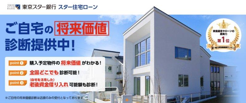 東京スター銀行の将来価値診断