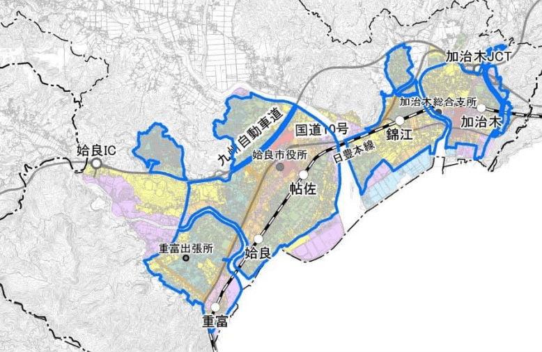 姶良市の立地適正化計画の素案