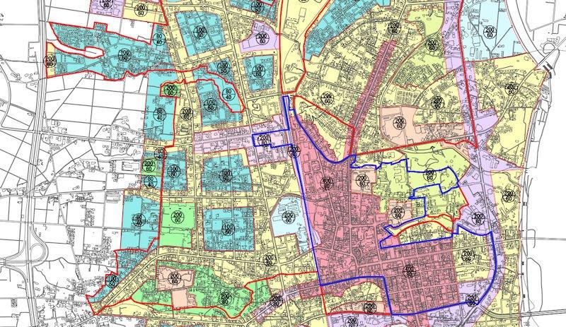 花巻市の立地適正化計画図