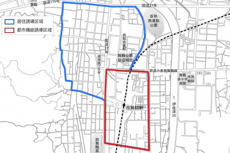 舞鶴市の立地適正化計画 西舞鶴