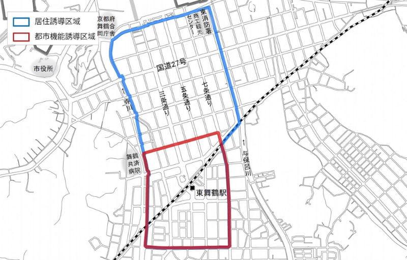 舞鶴市の立地適正化計画 東舞鶴
