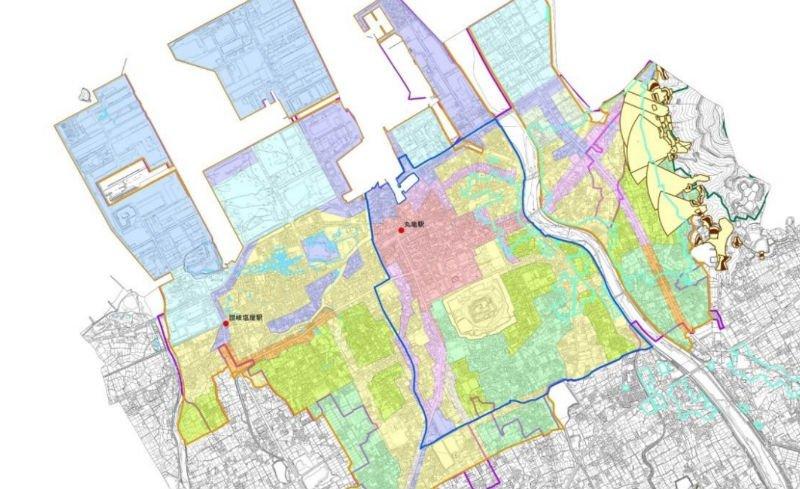 丸亀市の立地適正化計画