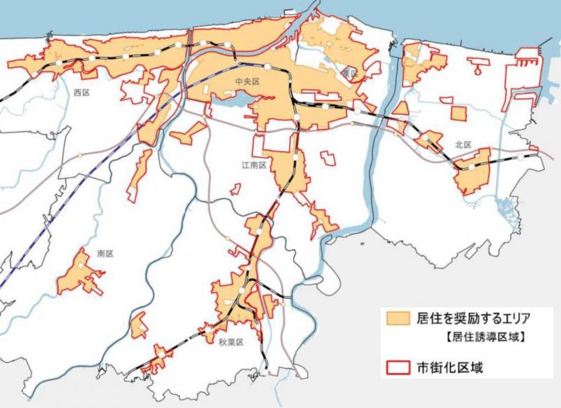新潟市の立地適正化計画