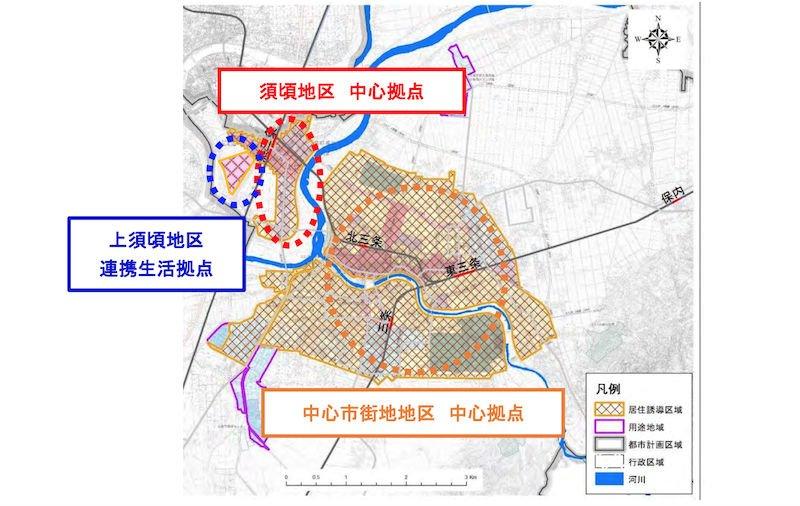 三条市の立地適正化計画