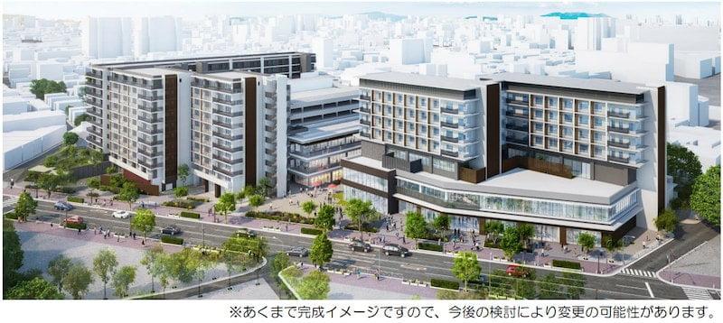 倉敷市再開発事業